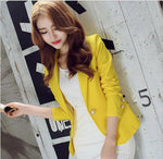 Fashion Single Button Blazer