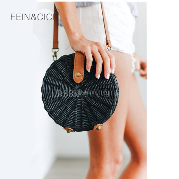 Straw Luxury Brand Bag 2 Colors