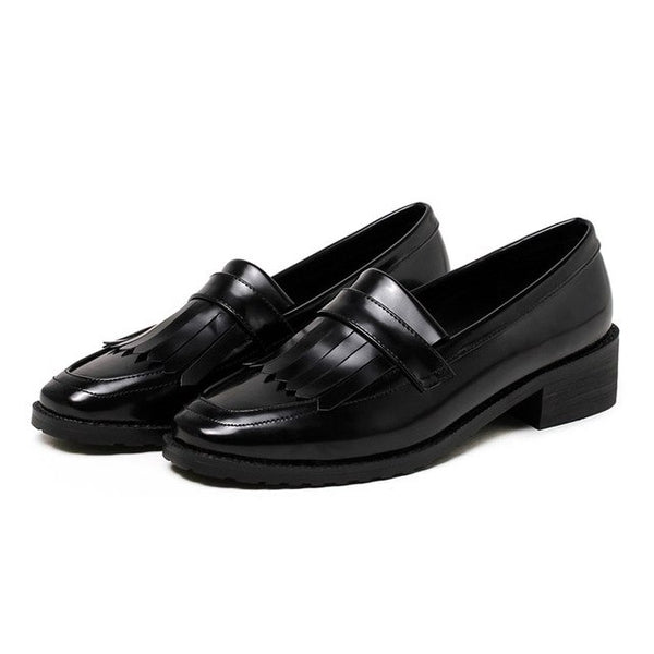 Patent Leather Classic Loafers