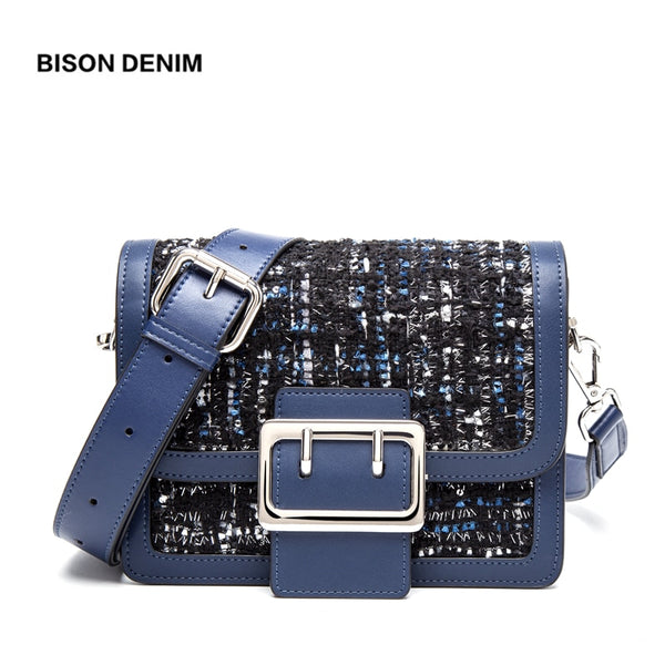 Women Bag Fashion luxury handbags women bags designer Wool crossbody bags for women