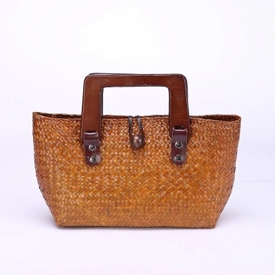 Woven Fashion Summer Bag 2 Colors