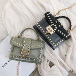 Shoulder Messenger Bags Chain Crossbody Bags PVC Women Handbags