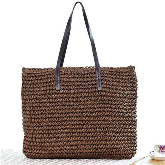Summer Rattan Bag 4 Styles