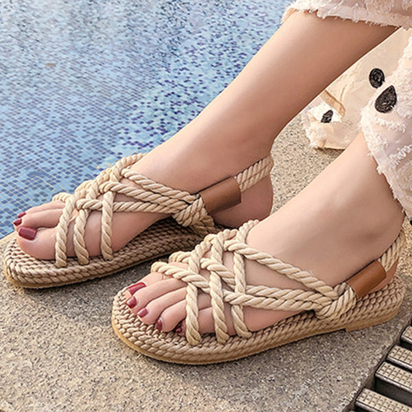 Gladiator Rope Sandals 2 Colors
