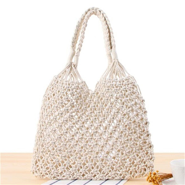 Straw Round Beach Bag 3 Styles