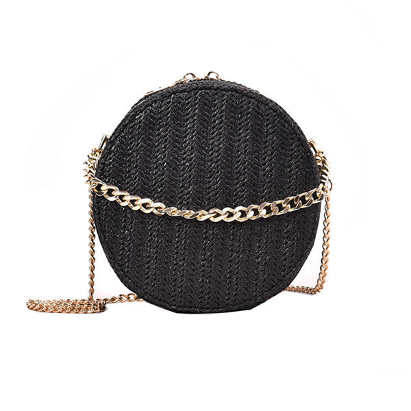 Rattan Straw Shoulder Bag 8 Styles