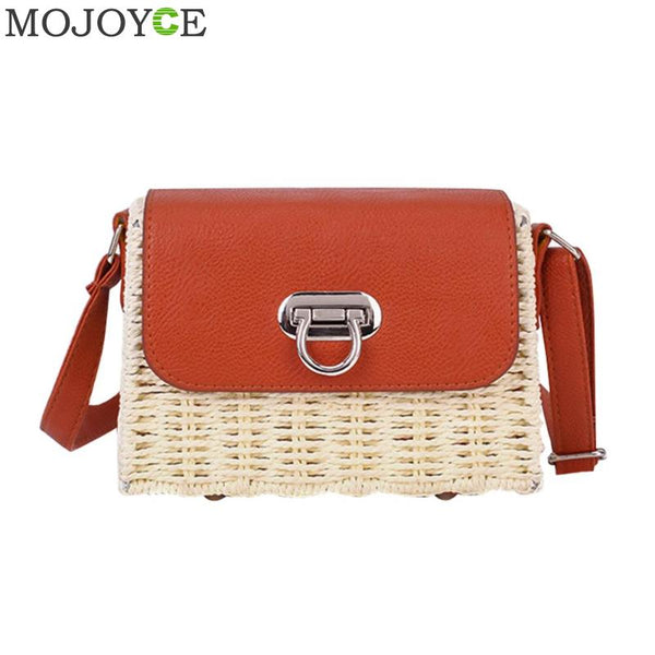 Woven Straw  Bohemia Bag 2 Colors