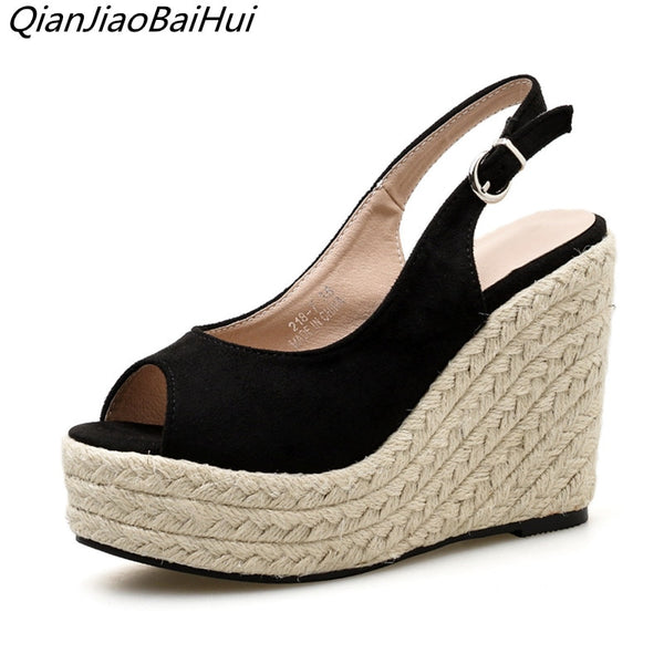 VA Casual Wedge Shoes