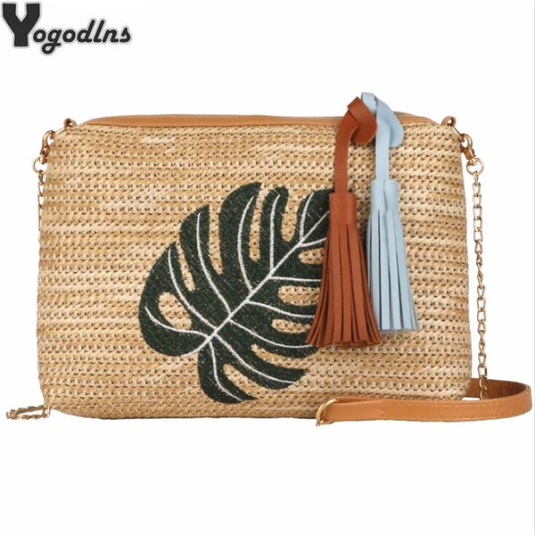 Straw Braided Summer Bag