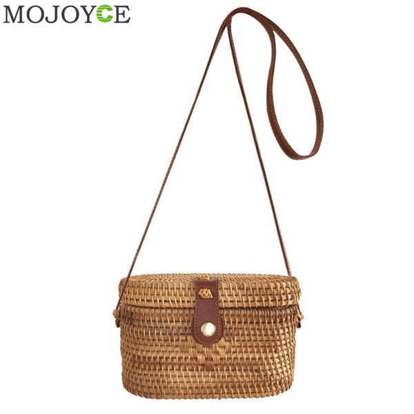 Fashion Straw  Summer Rattan Bag