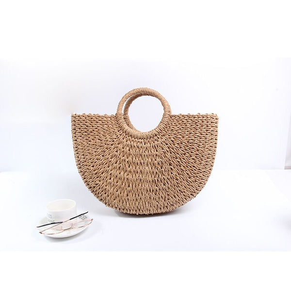 Summer Straw Bag
