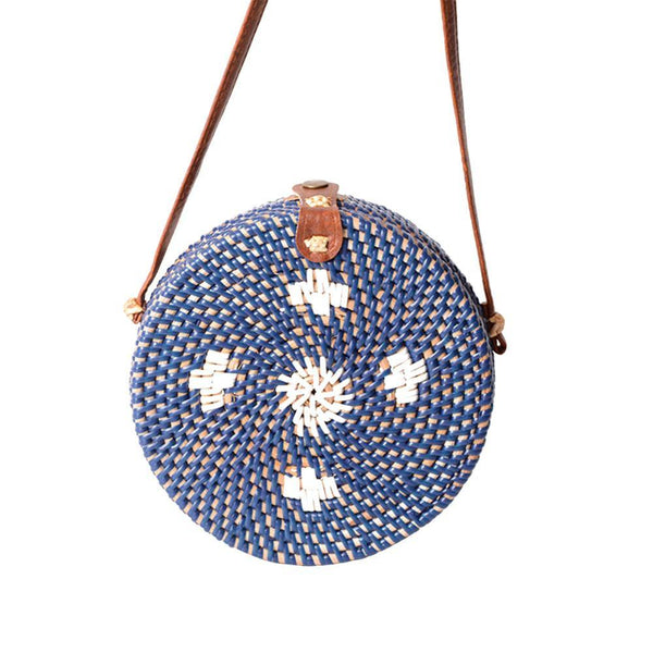 Rattan Natural Fashion Straw Bag  2 Colors