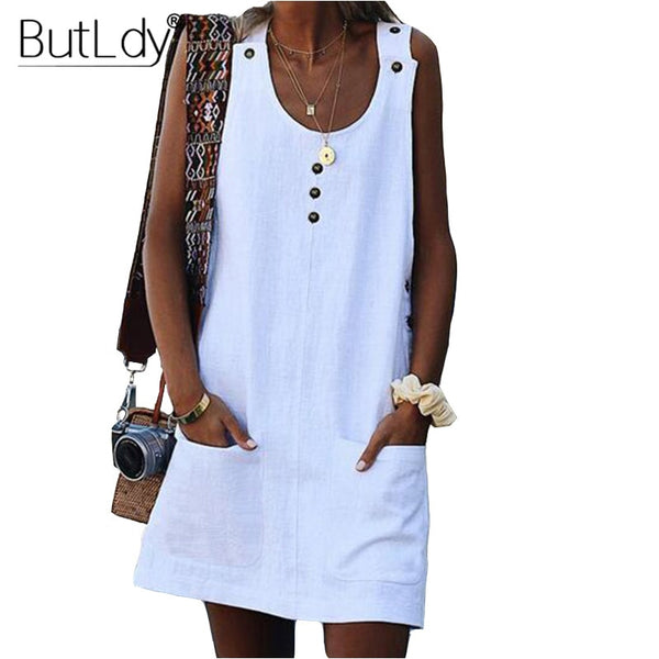 Beach Cotton Dress