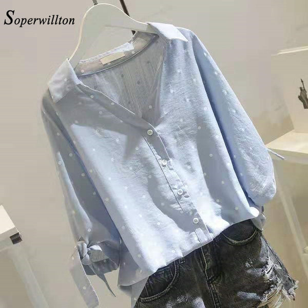 Casual Blouse 2 Colors