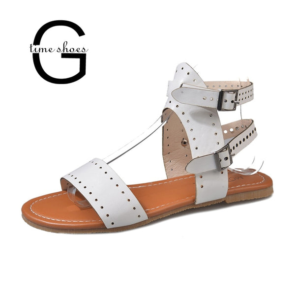 Open Toe Flat  Comfortable CasualSandals
