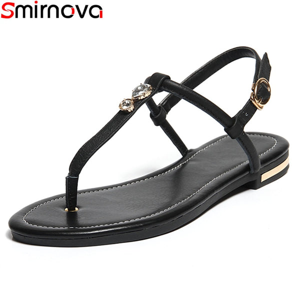 Genuine Leather Casual Sandals 3 Colors