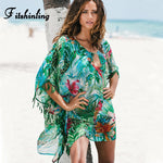 Rainforest Chiffon Cover Up
