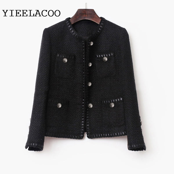 Elegant Woolen Coat Jacket