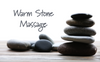 Warm stone massage—ease your mind, relax your body