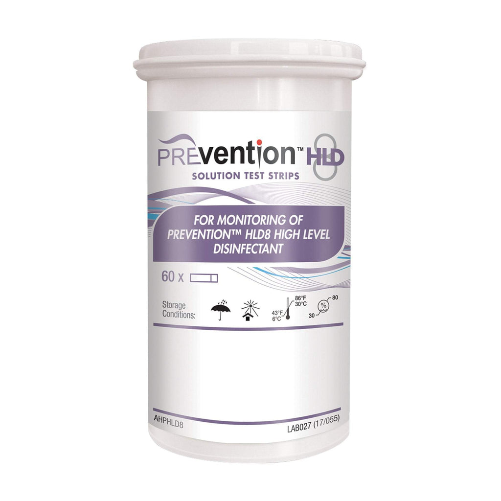 Disinfectant Wipes & Sprays Rejuvenate Prevention HLD8 Solution Test Strips 60 Count