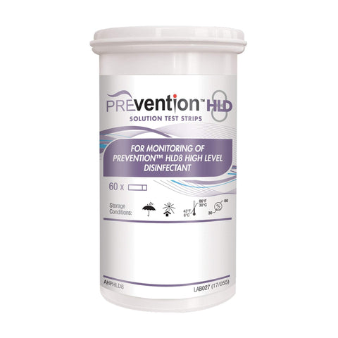 Image of Disinfectant Wipes & Sprays Rejuvenate Prevention HLD8 Solution Test Strips 60 Count