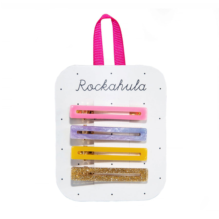 Rockahula Retro Bar Clips  I  Rainbow