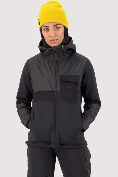 Mons Royale Decade Tech Mid Hoody Womens