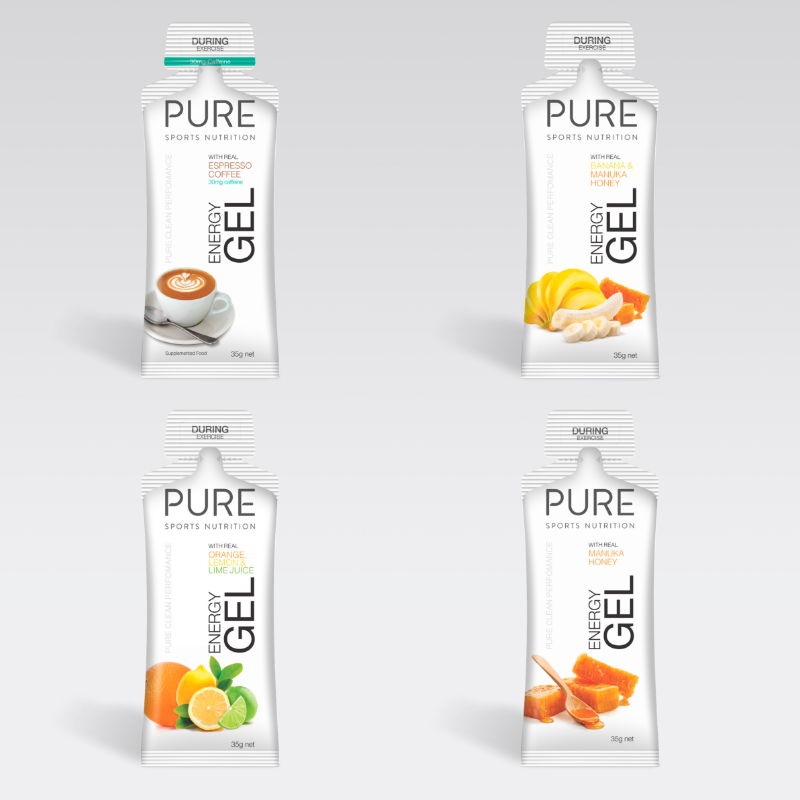 Pure Sports Nutrition Energy Gel