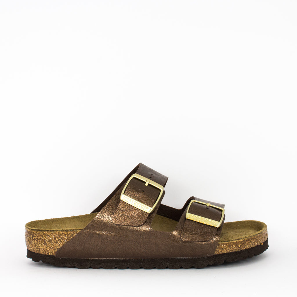 Birkenstock Arizona Graceful Toffee Birko Flor Regular Width