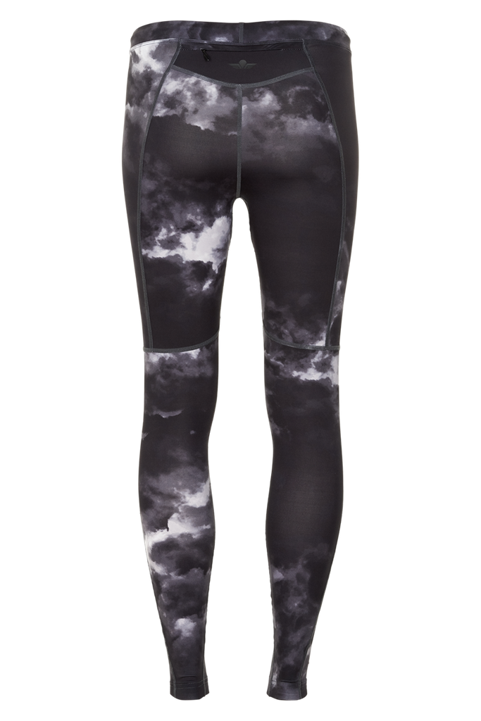 Newline Black Impact Camo Tight W