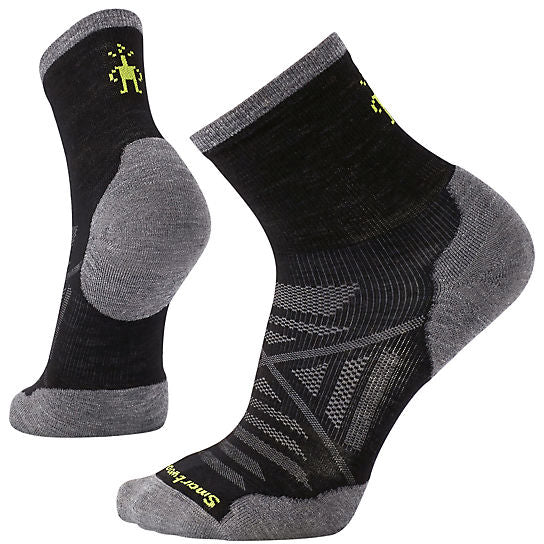 Smartwool PhD Run Light Cushion Mid Crew M