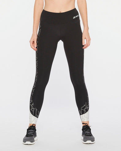 2XU Fitness Mid-Rise Line Up Tight W - Frontrunner Colombo