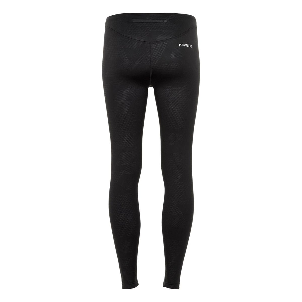 Newline Black Embossed Warm Tights W - Frontrunner Colombo