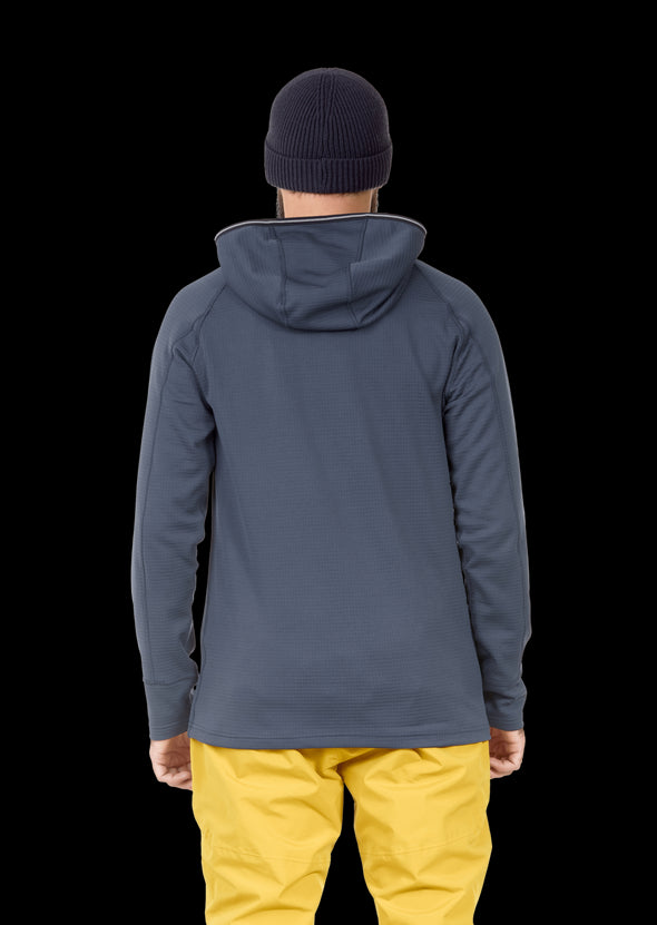 Picture Bake Grid Fleece Sweater Mens - Frontrunner Colombo