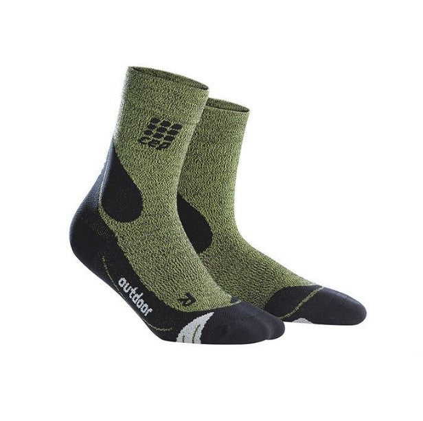 CEP Compression Outdoor Merino Mid-Cut Socks Mens - Frontrunner Colombo