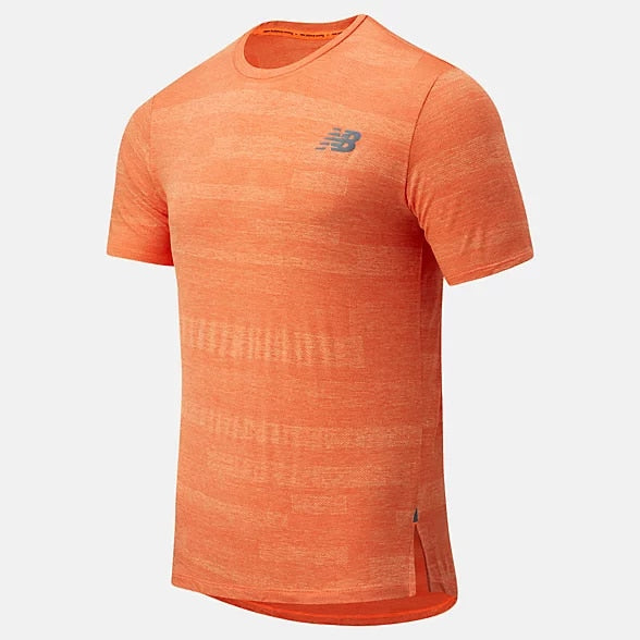 New Balance Fuel Jacquard SS Mens - Frontrunner Colombo
