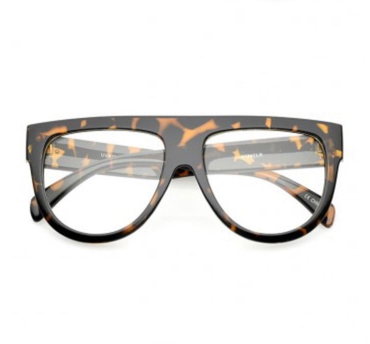 Flat Top Blue Light Filtering Adult Frames