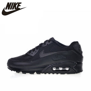 8dbbe713db Original Authentic Nike Air Max 90 Essential Men's Running Shoes Sport  Outdoor Breathable Sneakers 2018 New Arrival 537384-090