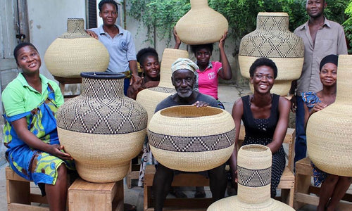 The colourful community of The Baba Tree Basket Company