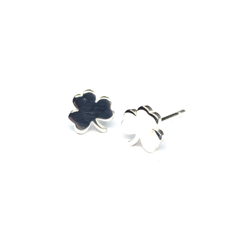 Mini Shamrock Earrings