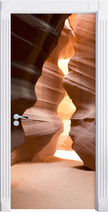 Antelope Canyon Arizona Türaufkleber