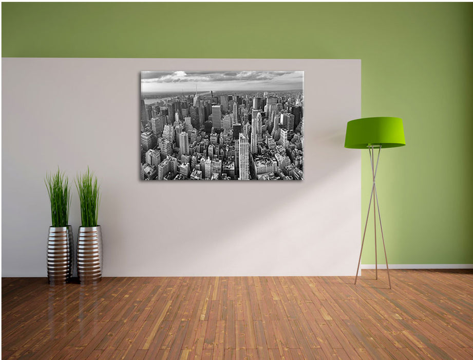 New York Skyline Leinwandbild im Flur