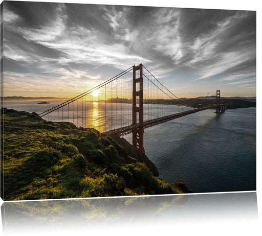 Golden Gate Bridge Ausblick Leinwandbild