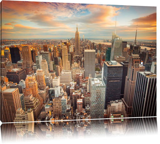 Skyline von New York Leinwandbild