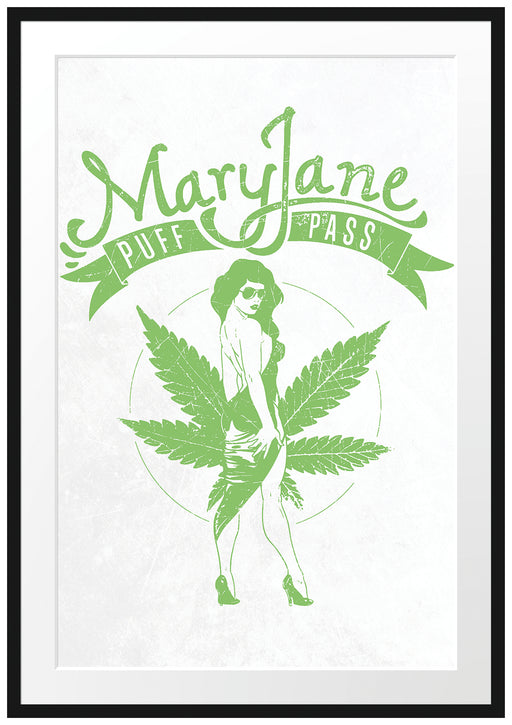 Mary Jane light Passepartout 100x70