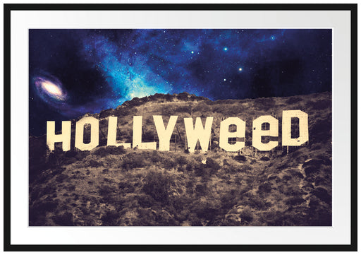 Hollyweed Passepartout 100x70