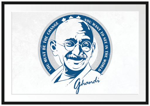 Ghandi Light Passepartout 100x70