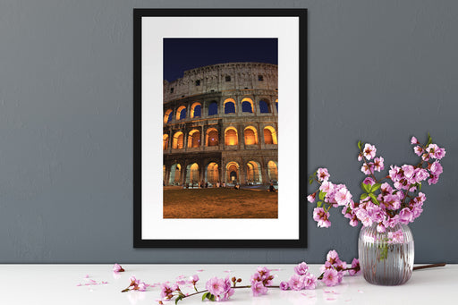 Colosseum in Rom Italien Italy Passepartout Wohnzimmer