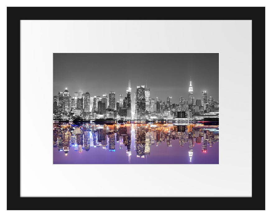 Manhattan Skyline Passepartout 38x30