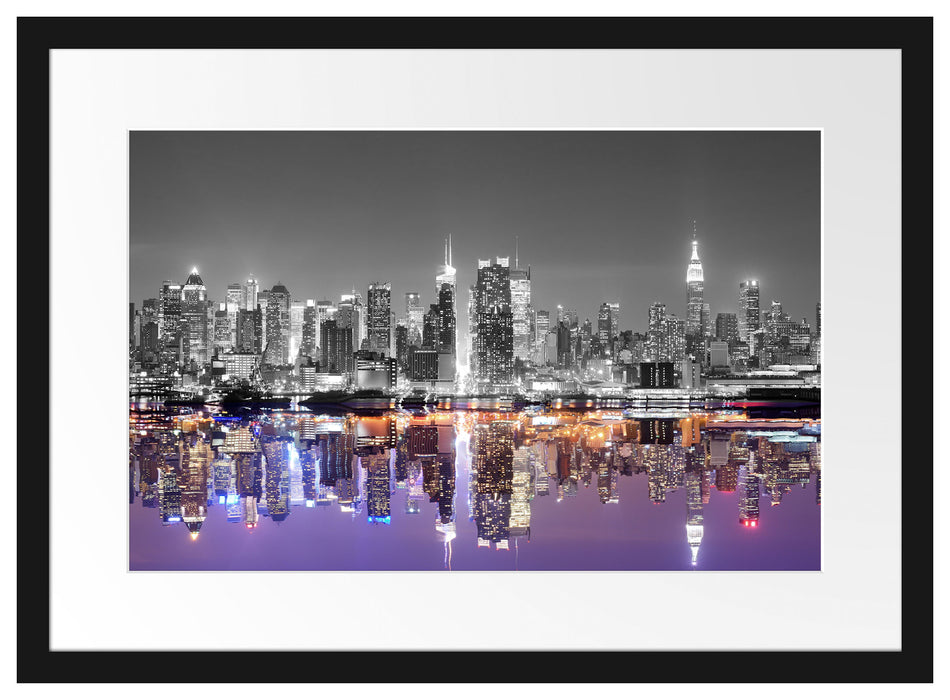 Manhattan Skyline Passepartout 55x40